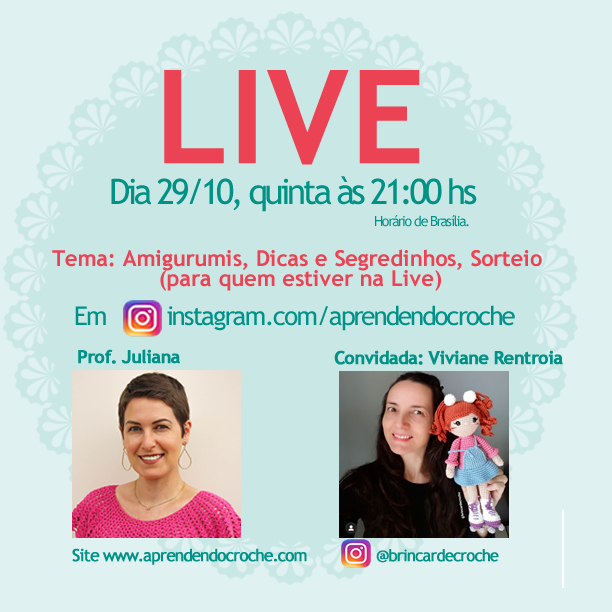 LIVE NO INSTAGRAM!